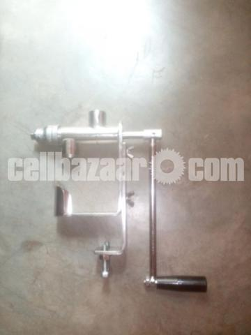 Manual oil press - 3/4
