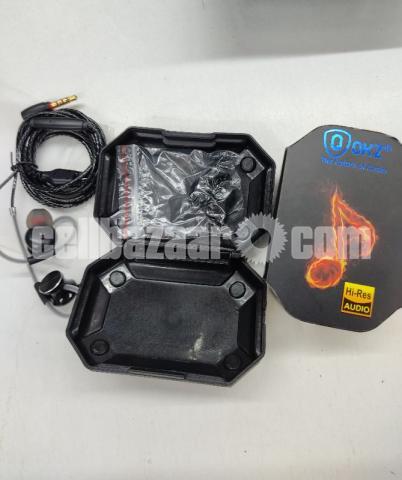 QKZ DM10 Metallic Earbuds Stereo Earphones(Intact) - 2/2