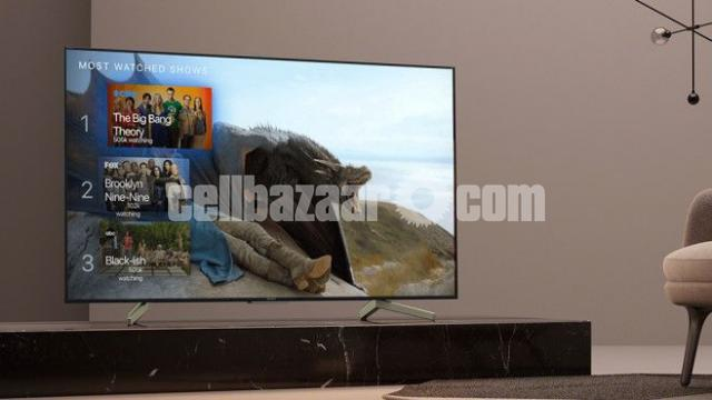 SONY BRAVIA 49 inch X7500H 4K ANDROID VOICE CONTROL SMART TV - 1/4