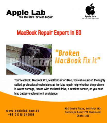 Broken MacBook fixed it - 1/1