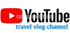 YouTube channel sale Travel vlog channel 4.5k subscribers