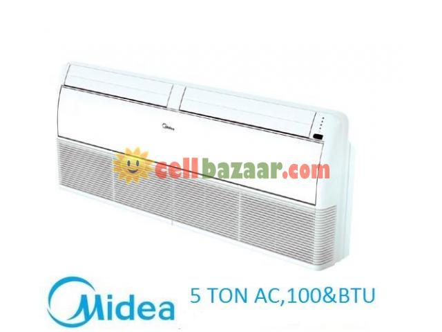 Midea 5 Ton 60000 BTU Brand AC - 1/4