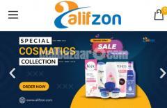 Multi-ventor e-commerce website