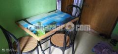 Folding table & Cahir - Image 2/2
