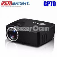 1200 Lumens Mini LED 3D Projector With TV