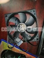 120mm Cooler fan Gigabyte C200 original Casing fan - Image 2/3