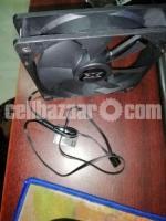 120mm Cooler fan Gigabyte C200 original Casing fan - Image 3/3