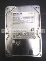 Toshiba 500 GB Harddisk