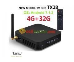 Tanix TX28 RK3328 Android 7.1 4GB RAM+32GB ROM 2.4+5G WiFi USB3.0 BT4.1