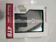 Transcend 4TB Portable Hard Drive