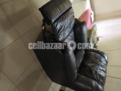 Full Leather Lazy Boy Sofa - Image 3/5