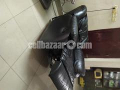 Full Leather Lazy Boy Sofa - Image 4/5
