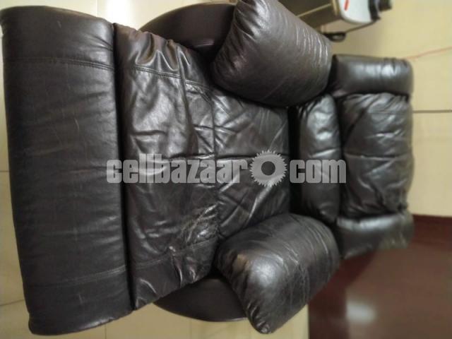 Full Leather Lazy Boy Sofa - 5/5