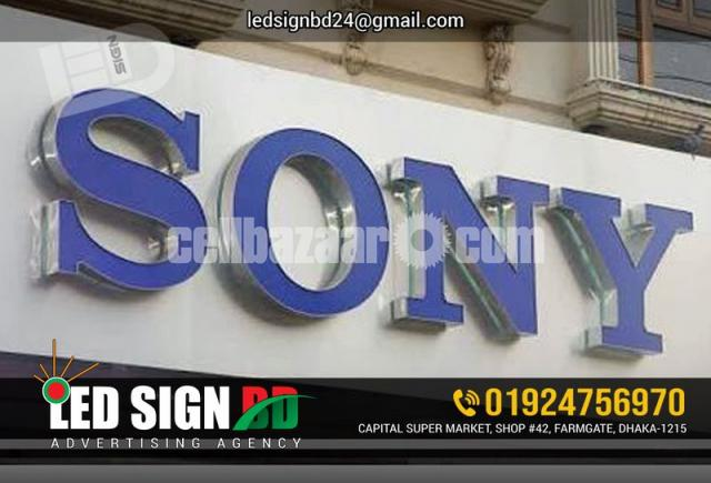 Acrylic Bata Module Top High Letter, SS High Letter & LED in Other - 2/4