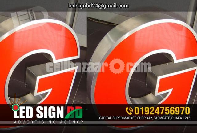 Acrylic Bata Module Top High Letter, SS High Letter & LED in Other - 4/4