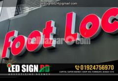 Acrylic Bata Module Top High Letter, SS High Letter & LED in Other TVs Bata - Image 3/4