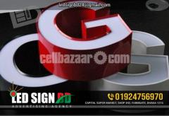 Acrylic Bata Module Top High Letter, SS High Letter & LED in Other TVs Bata - Image 4/4