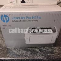 HP Pro M12W Laser Printer