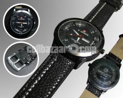 NAVIFORCE 1282 Black Belt Watch