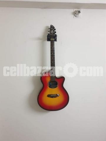 Yemaha indian original (semi acoustic) guitar - 1/6