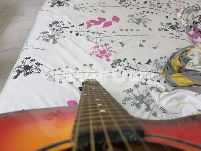 Yemaha indian original (semi acoustic) guitar - 2/6