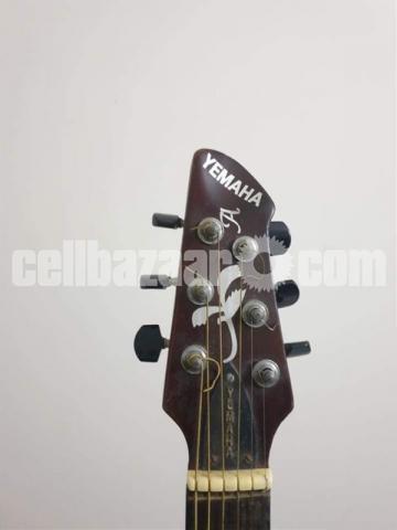 Yemaha indian original (semi acoustic) guitar - 3/6