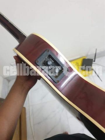 Yemaha indian original (semi acoustic) guitar - 4/6