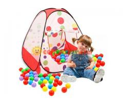 Kids Tent Play House & 50 Balls