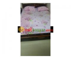 5×7ft Bed with Mattress