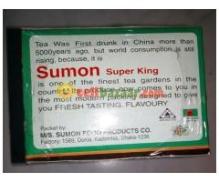 Sumon.  Supar king TEA bag