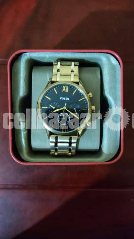 Fenmore Midsize Multifunction Gold-Tone Stainless Steel Watch - 1/3