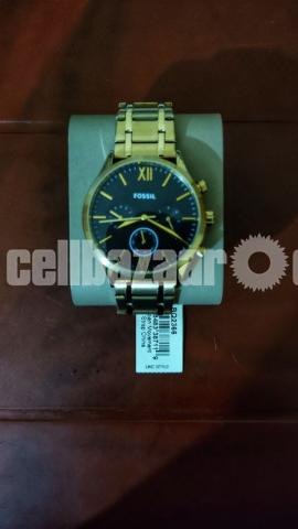 Fenmore Midsize Multifunction Gold-Tone Stainless Steel Watch - 2/3