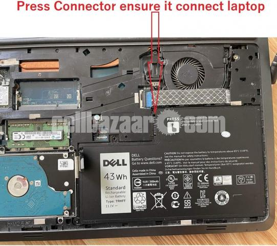 Dell Inspiron 14-5447 TRHFF 11.1V 43wh Original Laptop Only Battery - 7/10