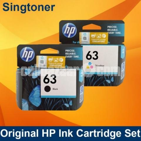 HP Original 63 Ink Cartridges Black Tri-color, 2 Cartridges - 2/10