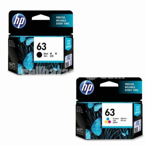 HP Original 63 Ink Cartridges Black Tri-color, 2 Cartridges - 4/10