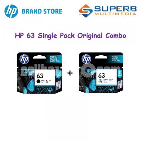 HP Original 63 Ink Cartridges Black Tri-color, 2 Cartridges - 6/10