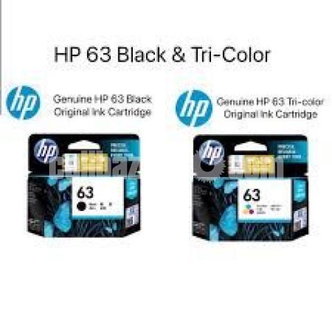 HP Original 63 Ink Cartridges Black Tri-color, 2 Cartridges - 7/10