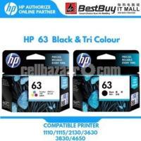HP Original 63 Ink Cartridges Black Tri-color, 2 Cartridges - Image 8/10