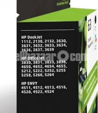HP Original 63 Ink Cartridges Black Tri-color, 2 Cartridges - 10/10
