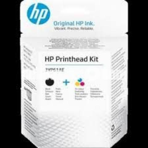HP GT51-GT52 Combo Black & Tri-color Printhead Replacement Kit - 6/10