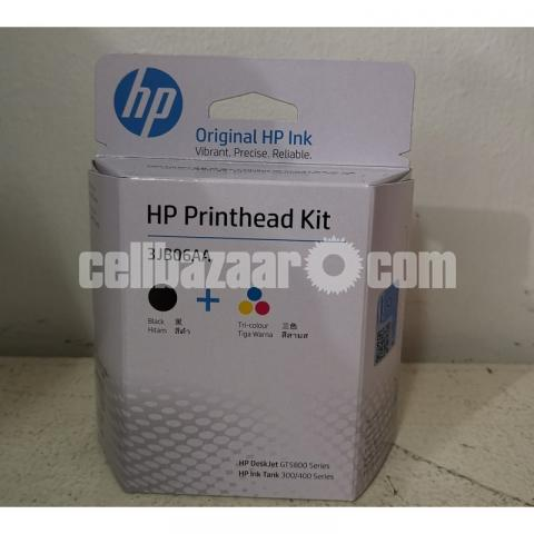 HP GT51-GT52 Combo Black & Tri-color Printhead Replacement Kit - 9/10