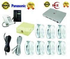 PABX & Intercom 08 Line, 08 Telephone  Set Full Package,