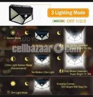 SOLAR WIRELESS LED LIGHT AUTOMATIC NIGHT & MOTION SENSOR