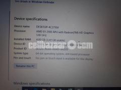 HP 14-d008au Notebook laptop with 4 gb ram and fast processor(dual core E1 2100APU).Screen -14 inch - Image 3/7