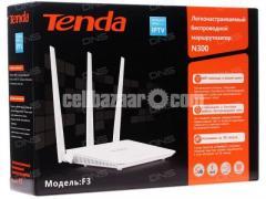 Tenda Genuine F3 300mbps 3 Antennas Router