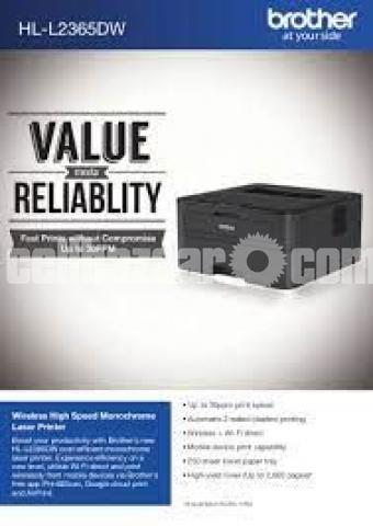 Brother HL-L2365DW Wireless Auto Duplex Laser Printer - 7/10