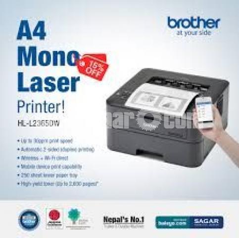 Brother HL-L2365DW Wireless Auto Duplex Laser Printer - 8/10