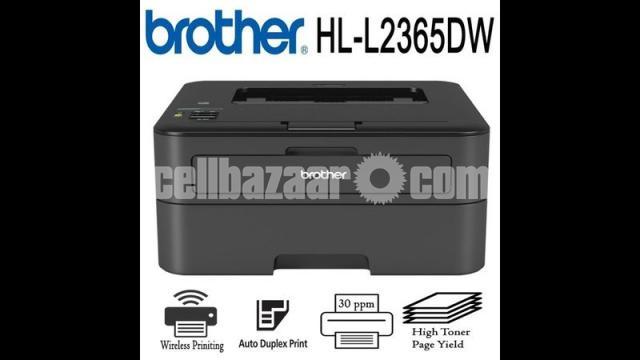Brother HL-L2365DW Wireless Auto Duplex Laser Printer - 9/10