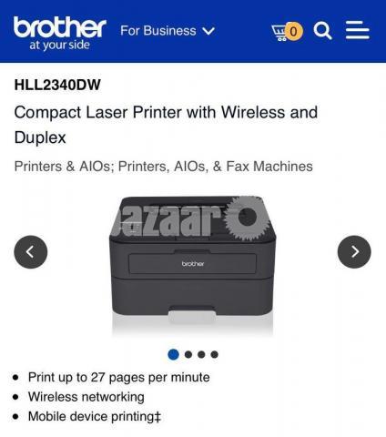 Brother HL-L2365DW Wireless Auto Duplex Laser Printer - 10/10
