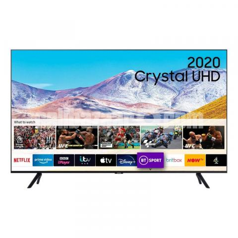Samsung 55'' TU8000 4K Crystal UHD Smart Television - 1/2